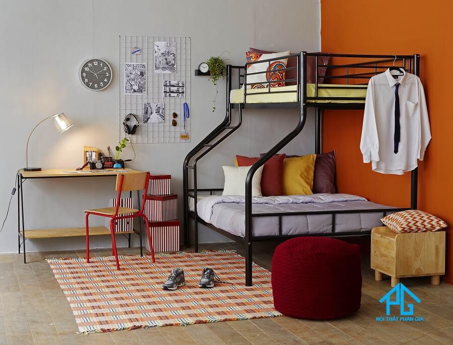 giường tầng gỗ tự nhiên cao cấp