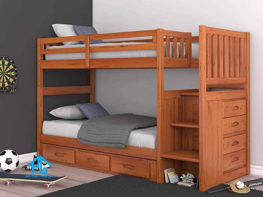 giường tầng gỗ tự nhiên tp hcm