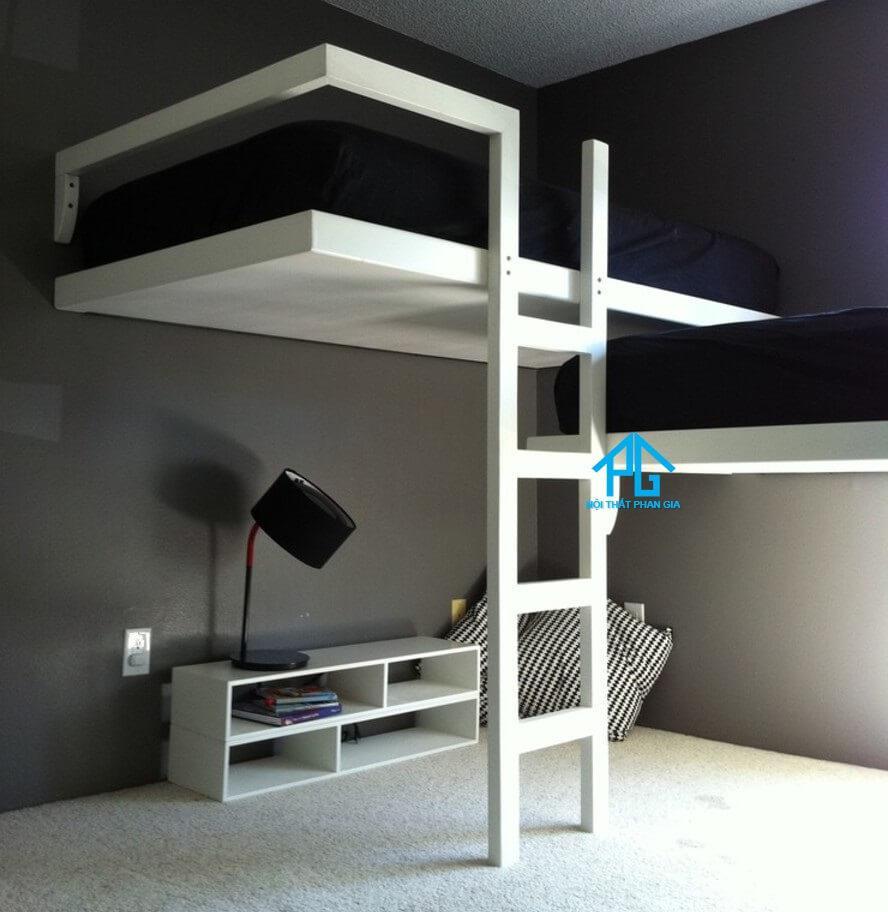 giường tầng kéo đơn giản