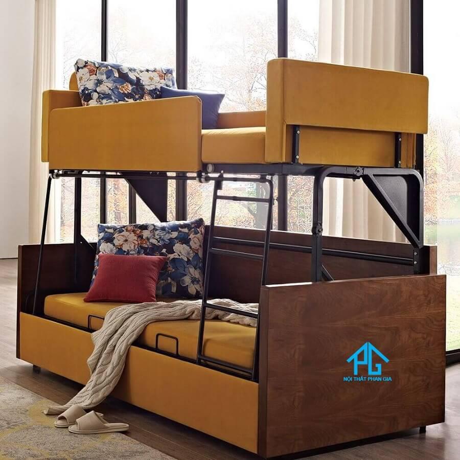 giường tầng người lớn sang trọng
