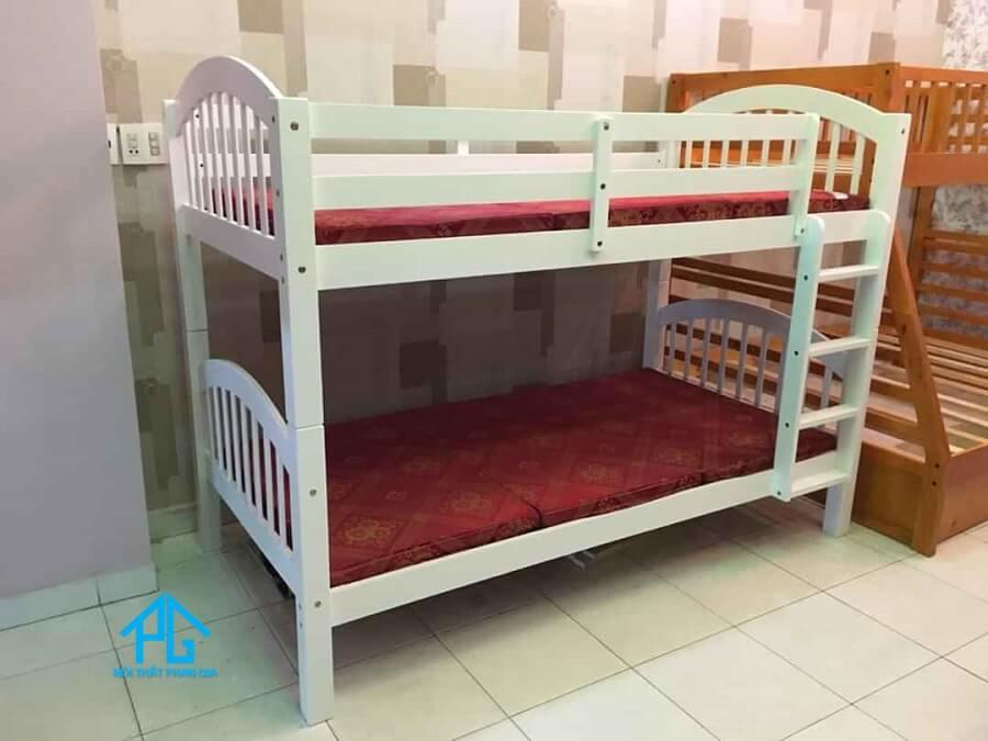 kích thước giường tầng bằng sắt