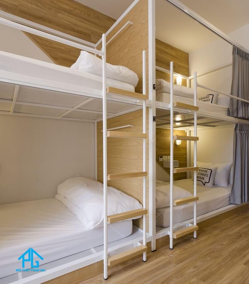 kích thước giường tầng ký túc xá