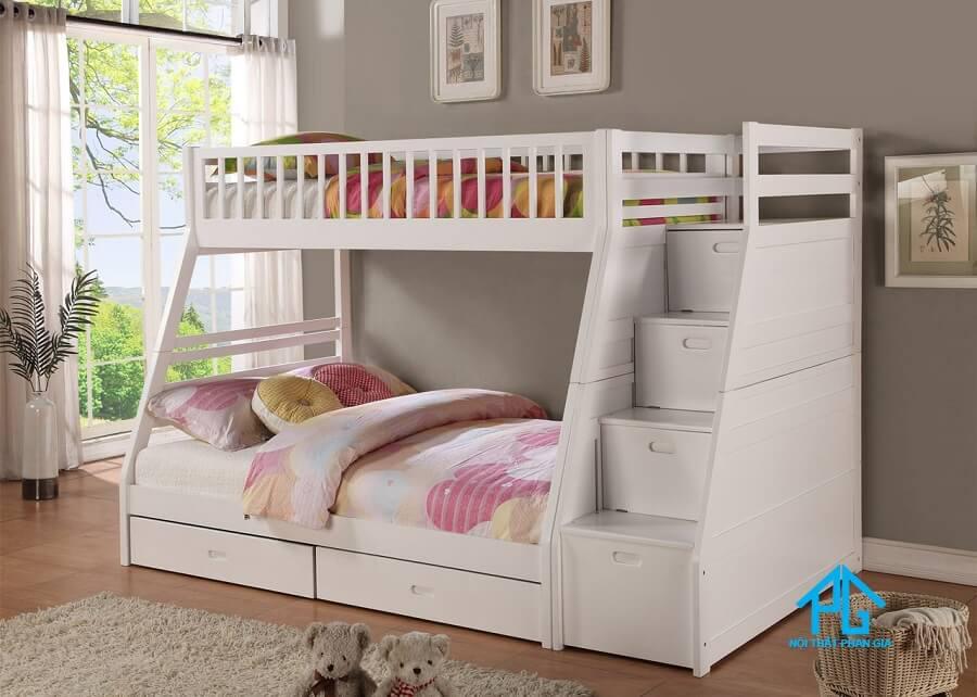 kích thước giường 2 tầng cho bé