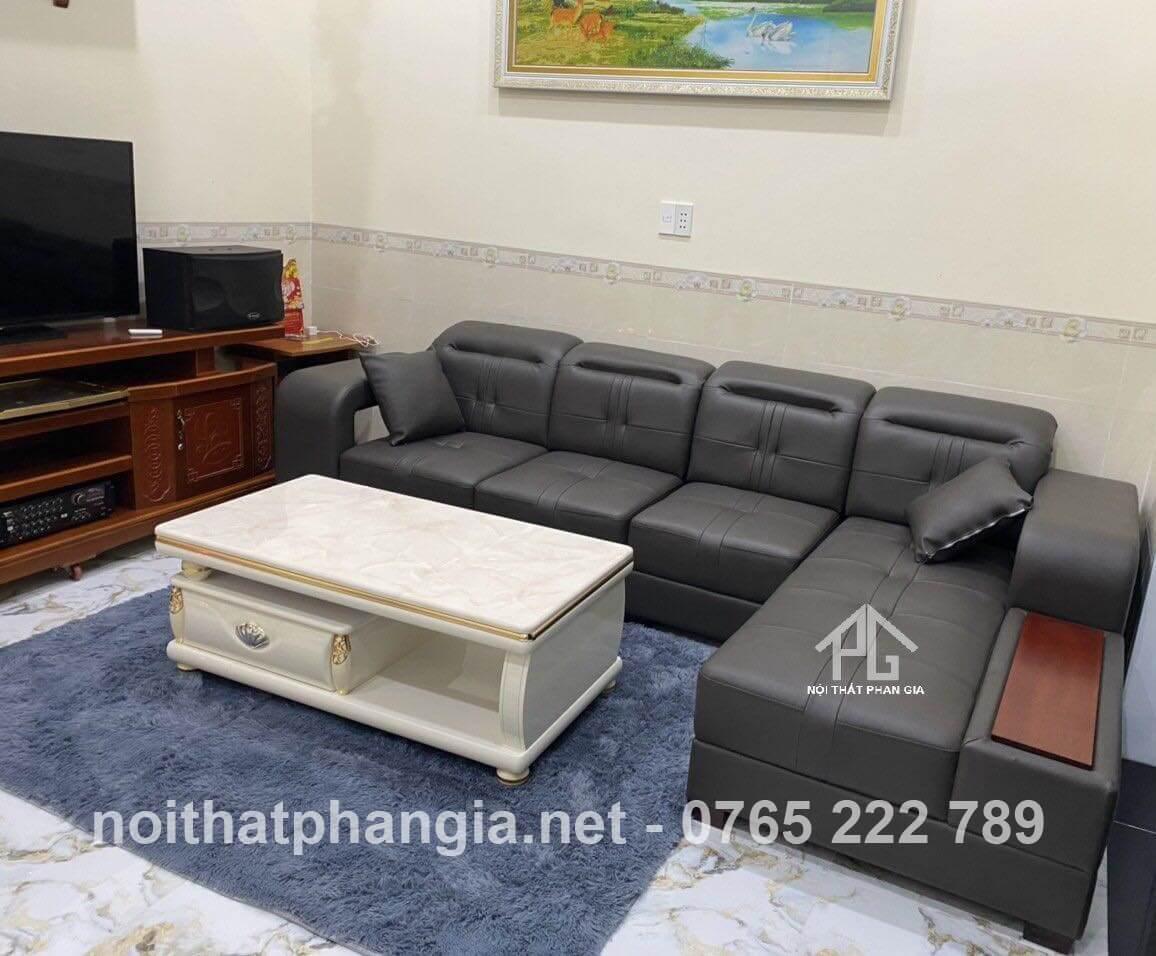 mẫu sofa da công nghiệp được ưa chuộng;