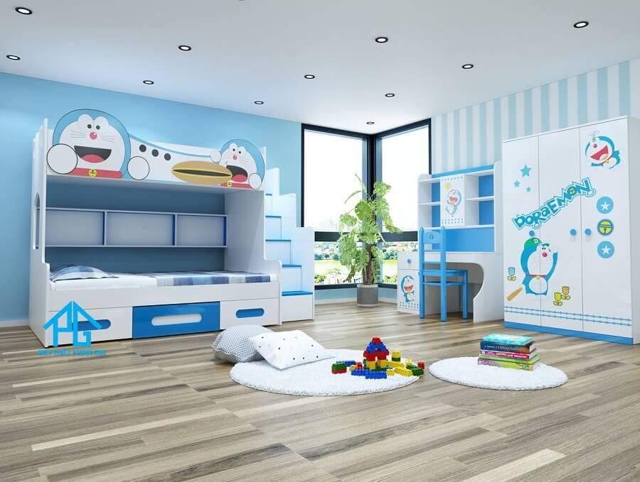 phòng ngủ bàn học trẻ em