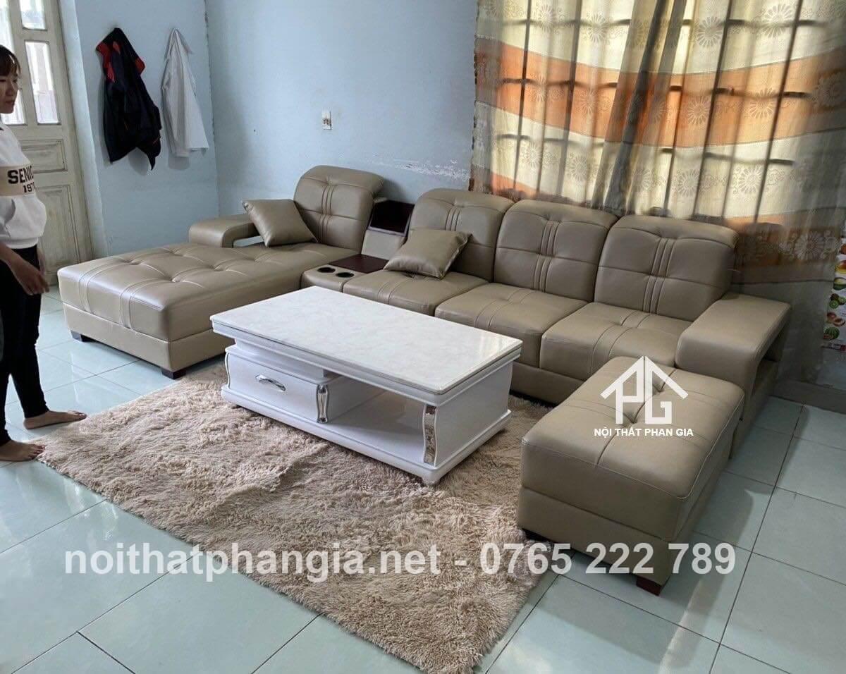 tại sao nên chọn mua ghế sofa da thật cho phòng khách;