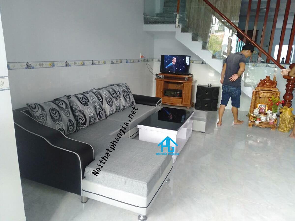 bài trí sofa hợp phong thủy;