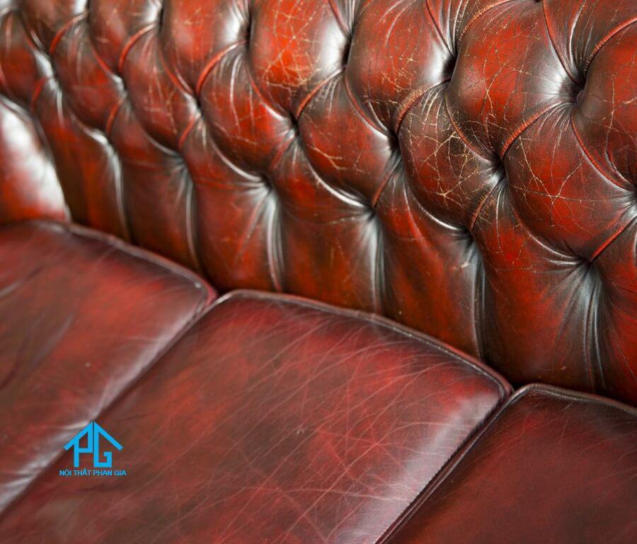 bảo quản vệ sinh sofa da PU