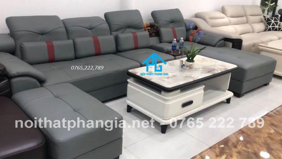 bố trí sofa phòng khách hợp phong thủy;
