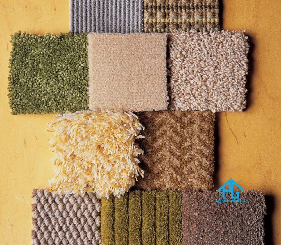 các chất liệu làm thảm sofa