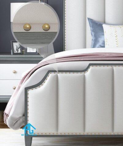 giường bọc nệm theo phong thủy
