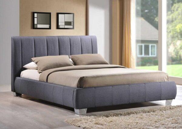 giường bọc vải nỉ