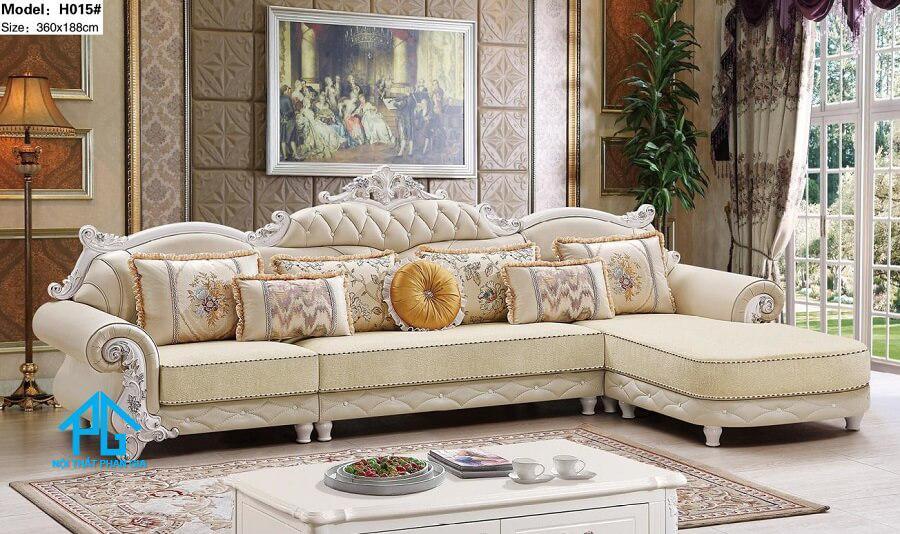 lưu ý khi mua sofa cho nhà ống