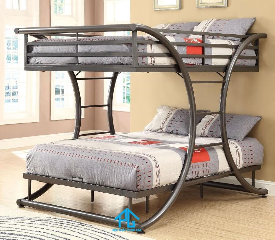 mua giường tầng sắt giá rẻ