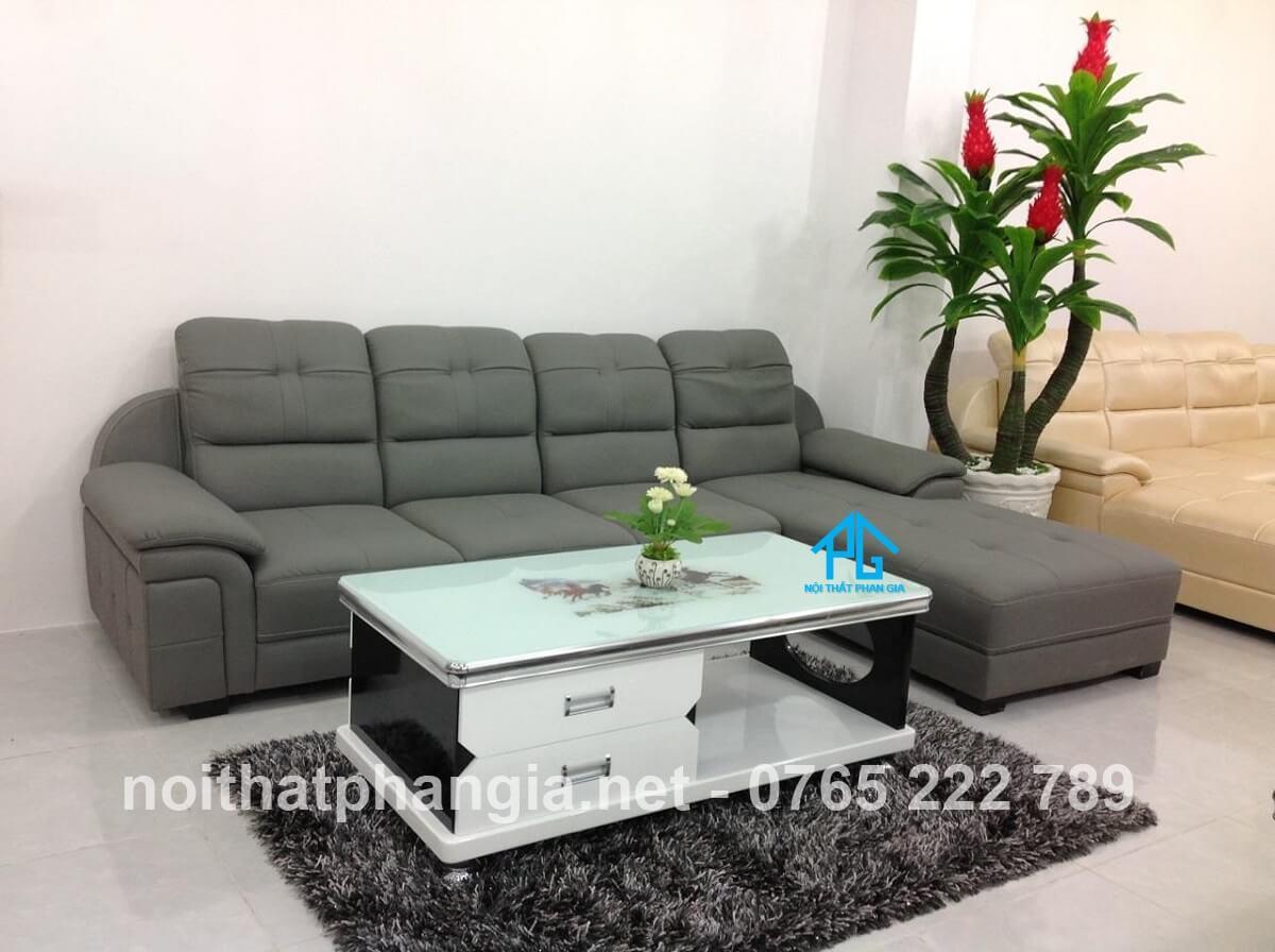 nhận biết sofa da microfiber chính hãng;