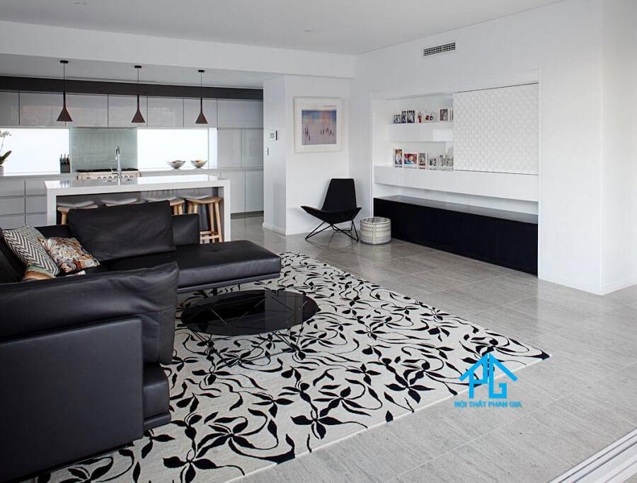 nhận biết thảm trải sàn sofa kém chất lượng