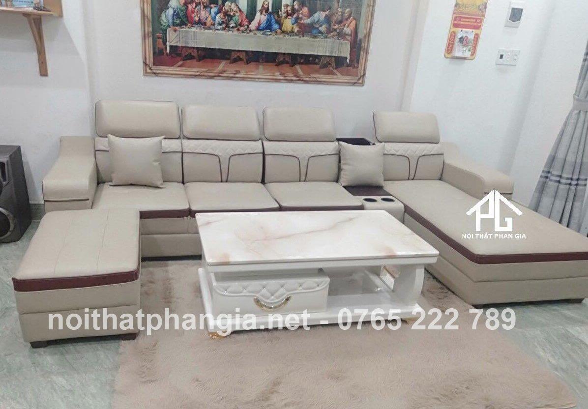 sofa băng simili cao cấp;
