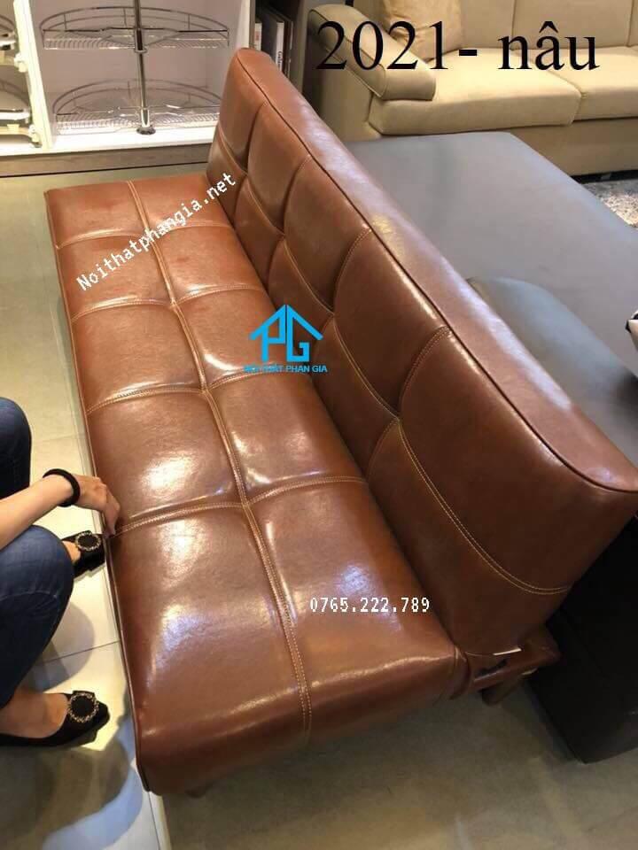 sofa bed da PU sofa giường;