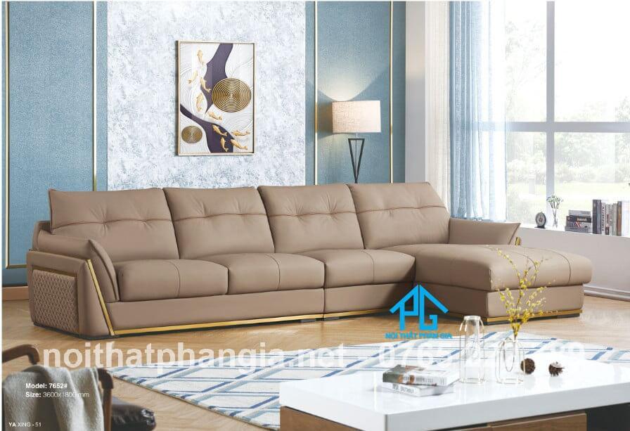 sofa da PU hiện đại giá rẻ