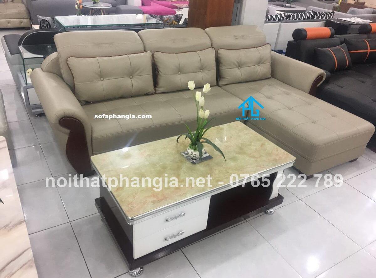 sofa da cao cấp nhà ống;