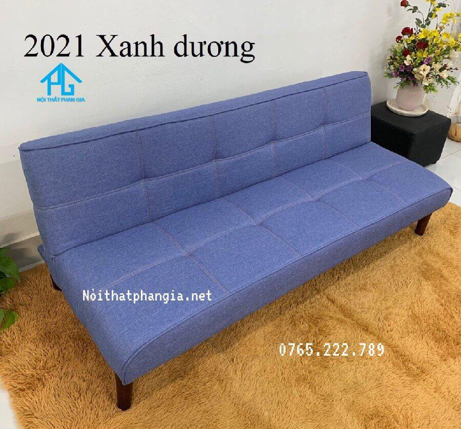 sofa giường vải giả da