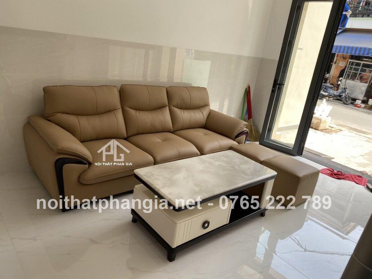 sofa màu trắng mệnh kim;