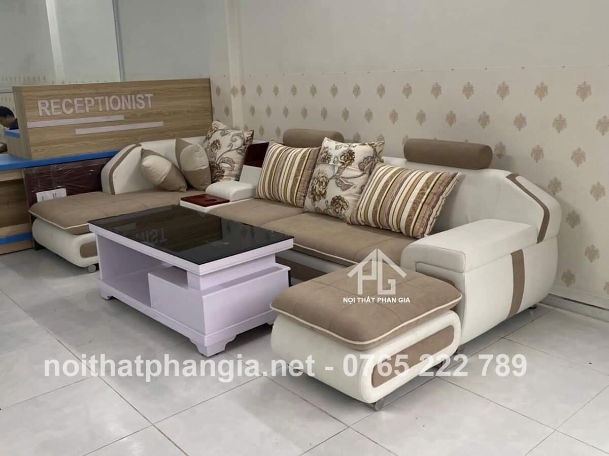 sofa màu vàng mệnh thổ;