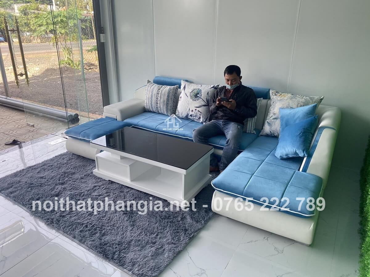 sofa tân cổ điển nguyên bộ;
