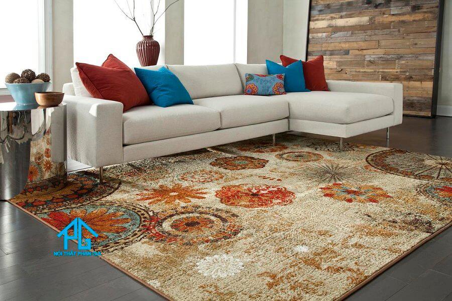 thảm trải sàn sofa sợi tổng hợp