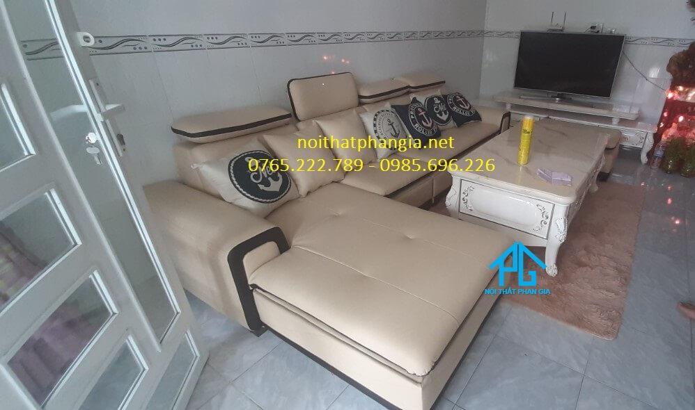 thiết kế sofa cho nhà ống;