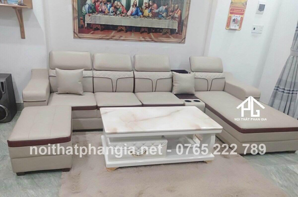 ưu điểm của sofa da PU