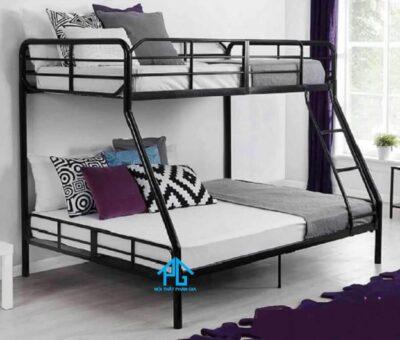 vệ sinh giường tầng sắt