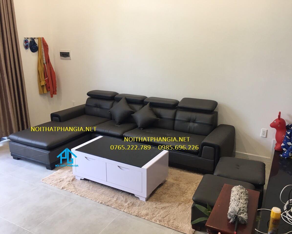 vị trí sofa trong nhà ống
