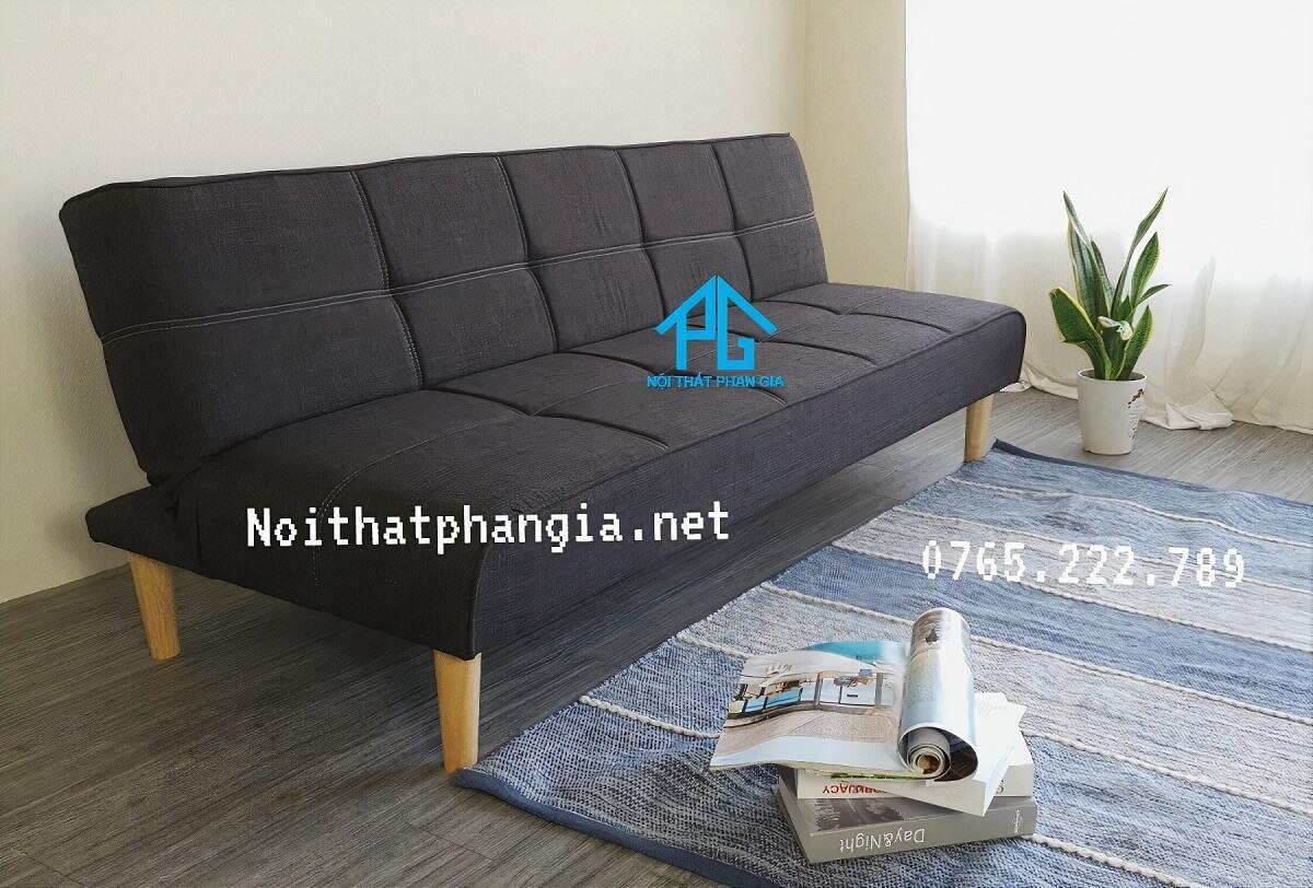 bán sofa vải băng t2 đen tphcm