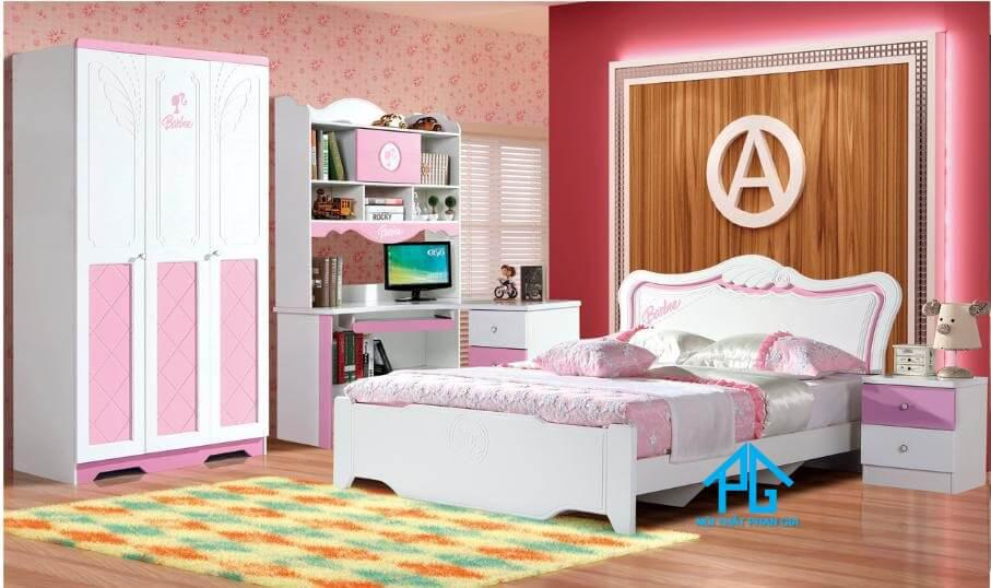bộ giường tủ hiện đại giảm giá hcm