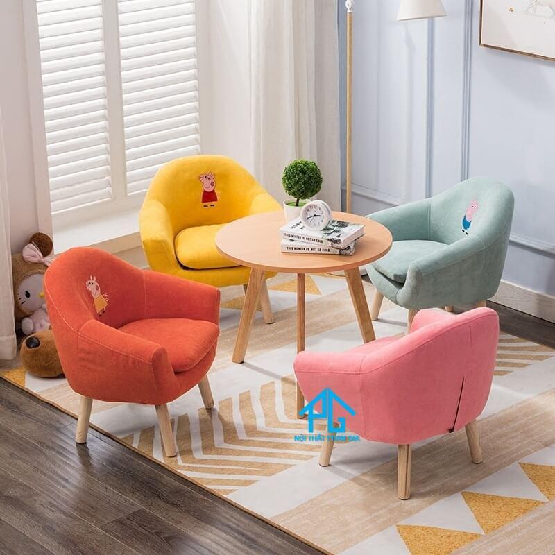 ghế sofa đệm bông cho bé
