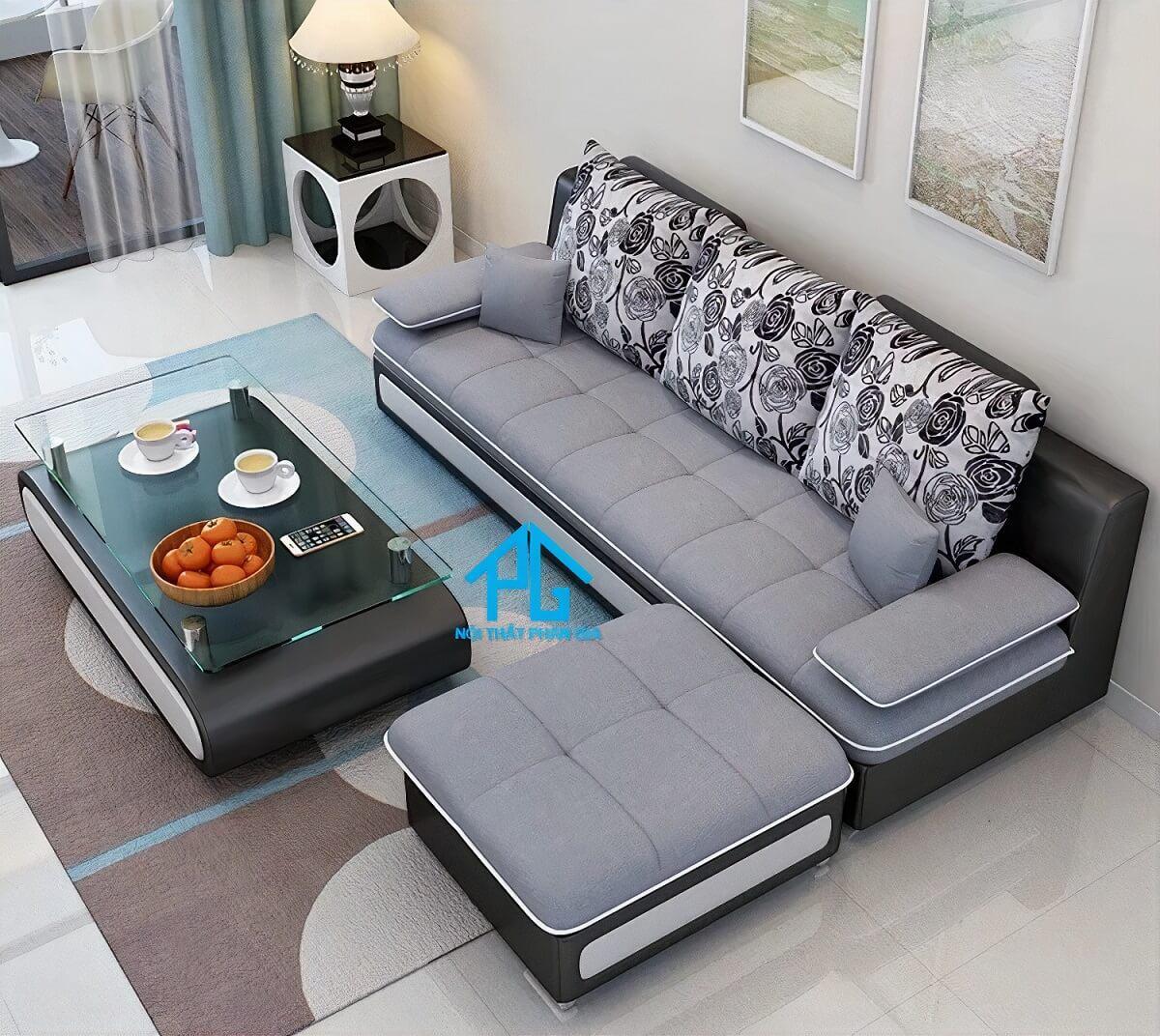 giảm giá sofa băng vải nỉ tphcm
