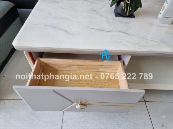 hộc tủ bàn trà mặt đá t248
