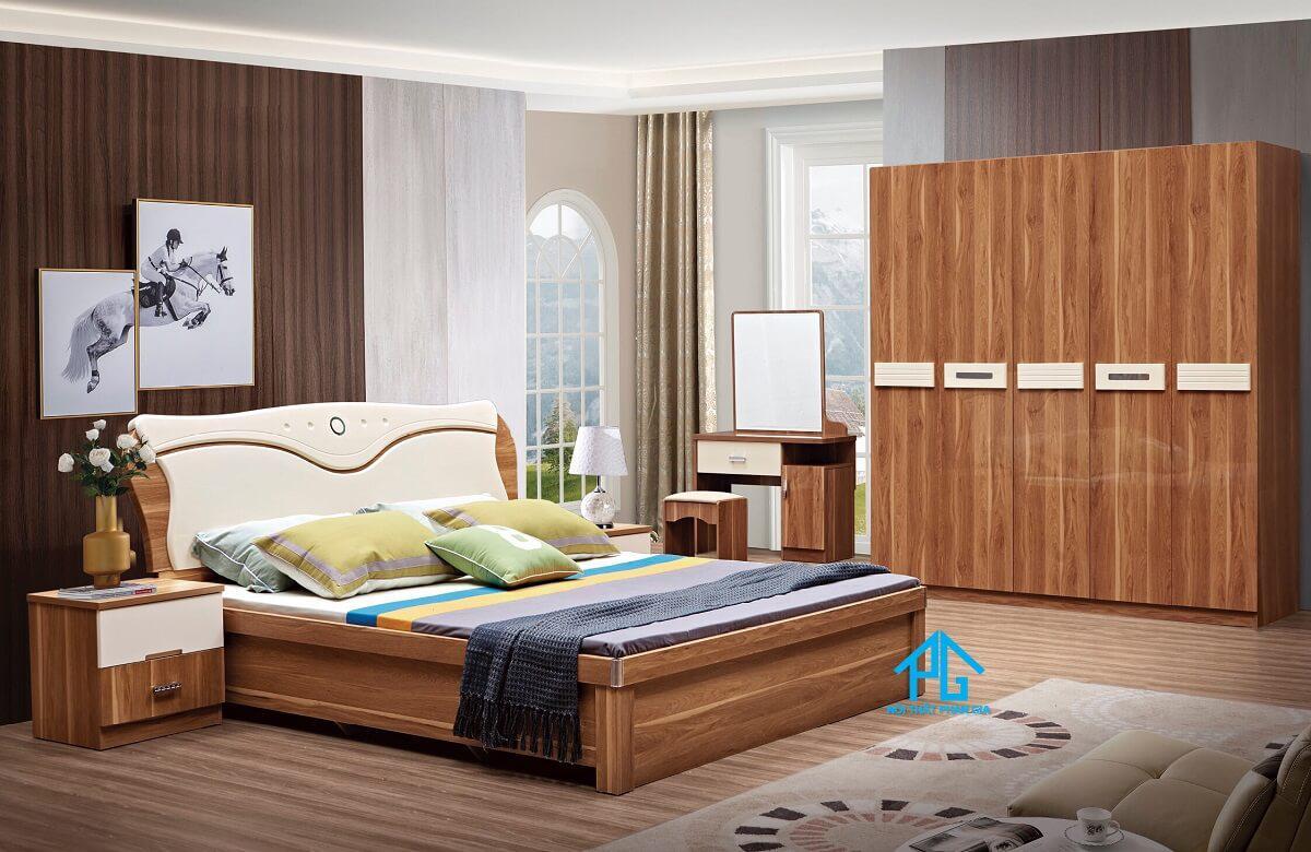 khuyến mãi bộ giường tủ hiện đại tphcm