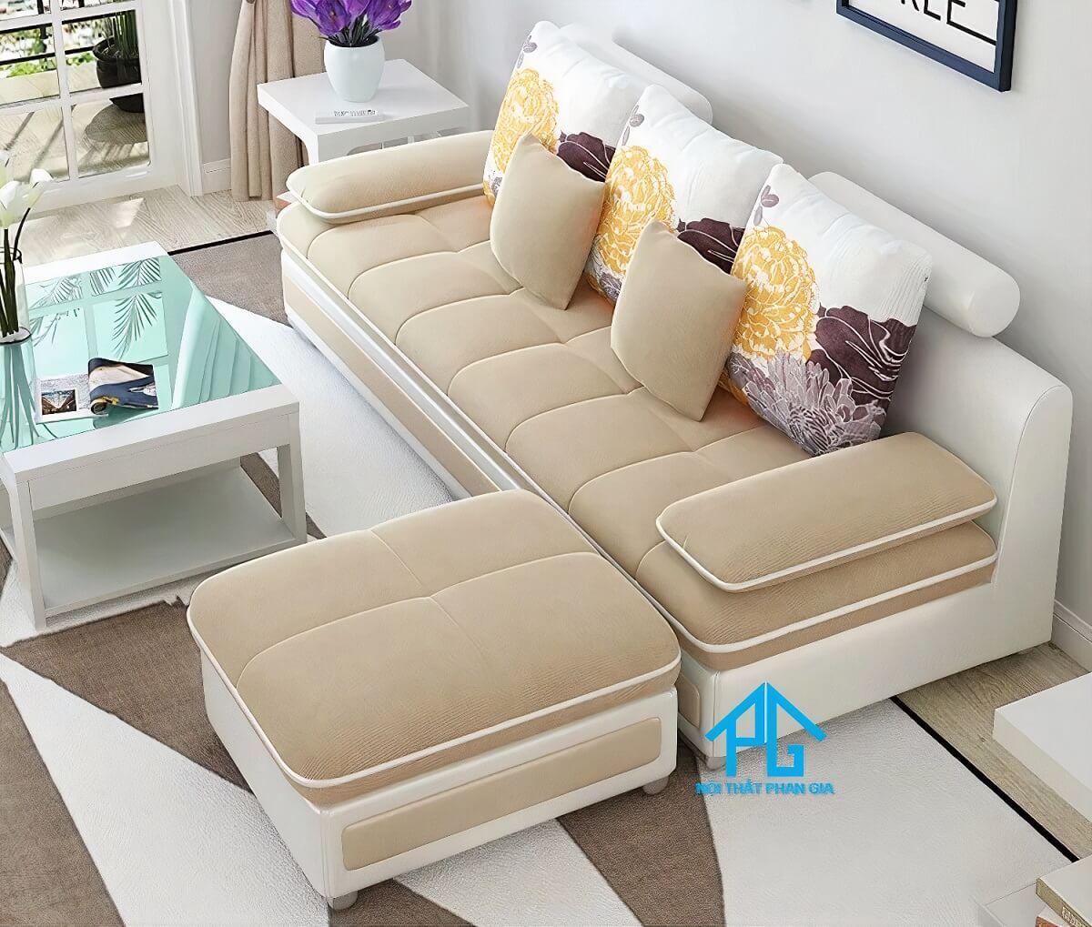 khuyến mãi sofa băng vải nhung tphcm