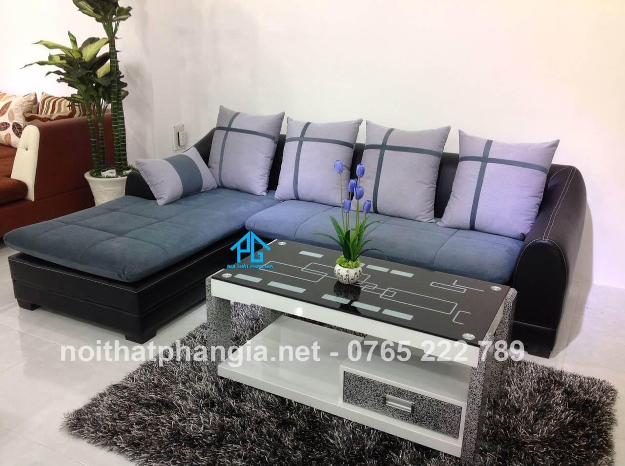 lựa chọn gối tựa cho sofa phòng khách;