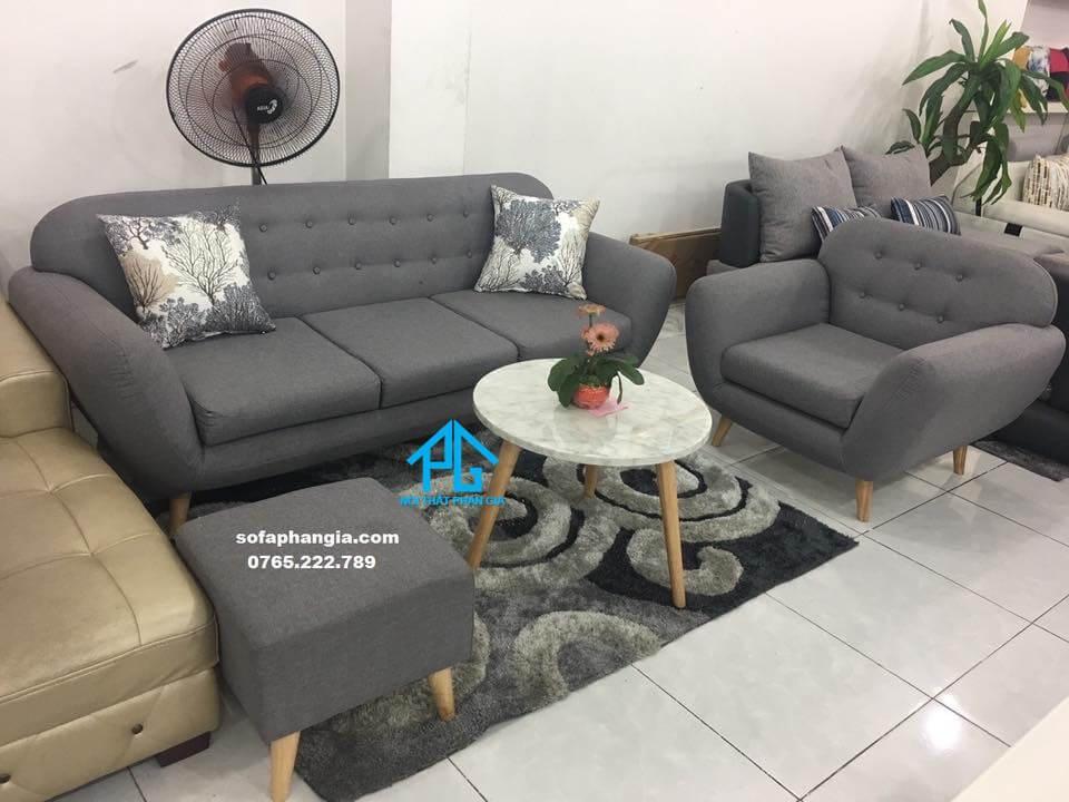 sofa băng vải bố ghép bộ tphcm tốt nhất