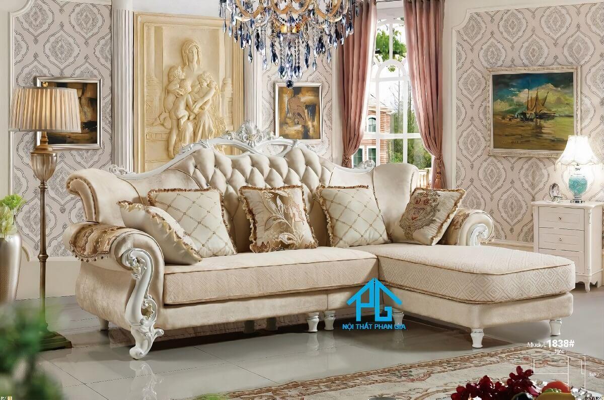 sofa tân cổ điển nhập khẩu tphcm