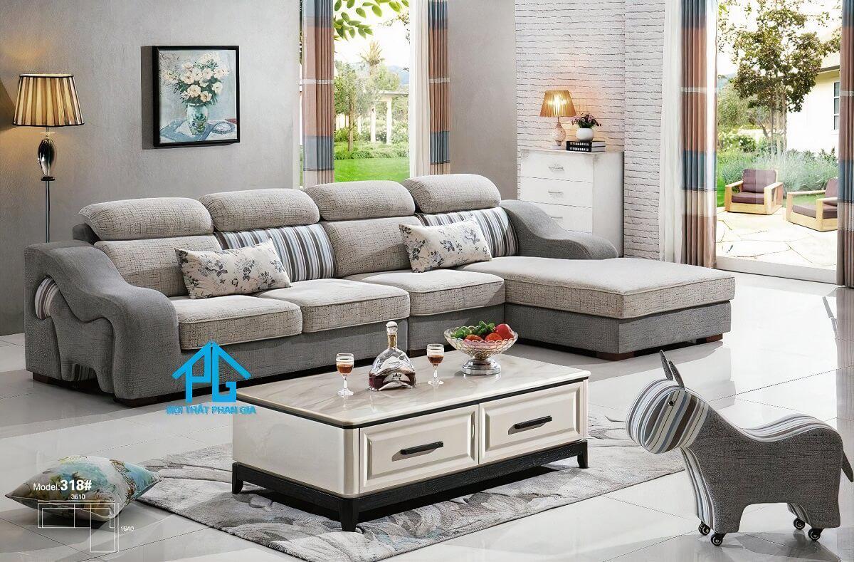 sofa vải nhập khẩu tphcm