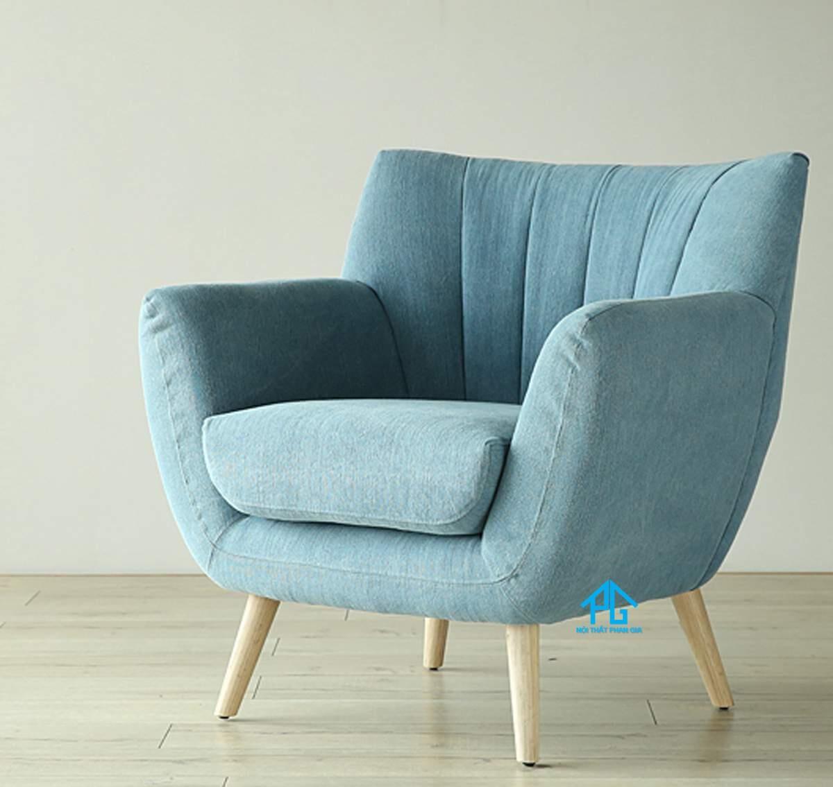 giảm giá ghế sofa đơn da hiện đại tphcm