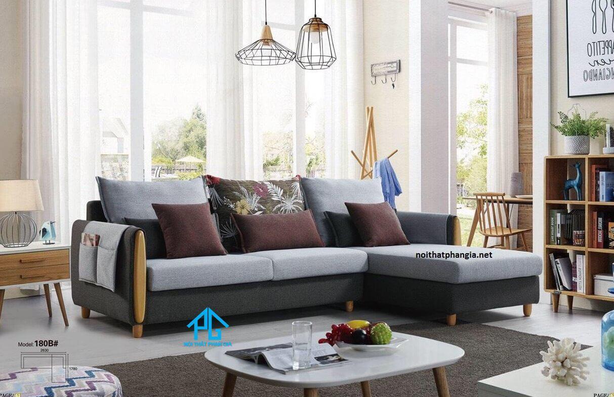 sofa da thật hiện đại cao cấp