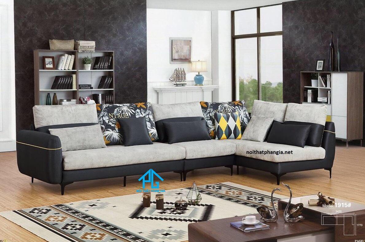 sofa góc L hiện đại chính hãng