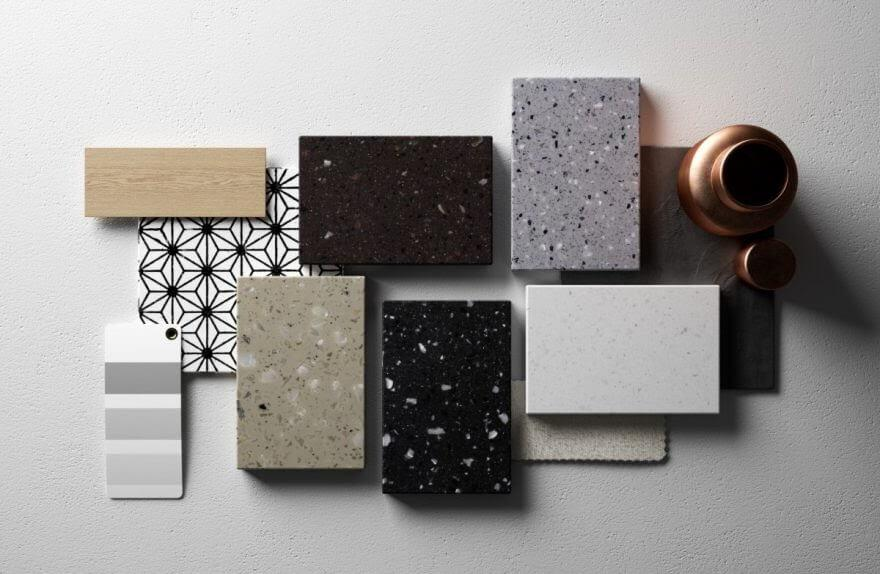 Bộ sưu tập đá nhân tạo Solid surface cho nhà bếp