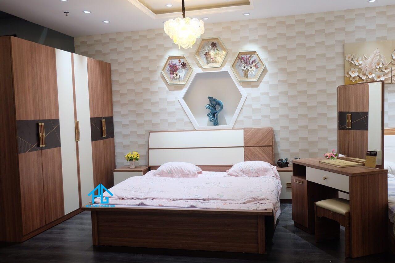Đức sơn nội thất gỗ cao cấp cho gia đình Lâm Hà;