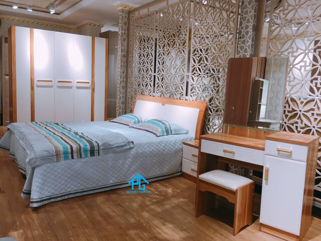 dương gia thiết kế trang trí nội thất phòng ngủ thuận an;